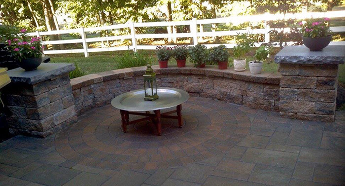 Hardscaped Patio